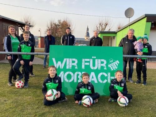 OTZ vom 09.03.2021: Ein Käfig voller Fußball-Narren in Moßbach ⚽️