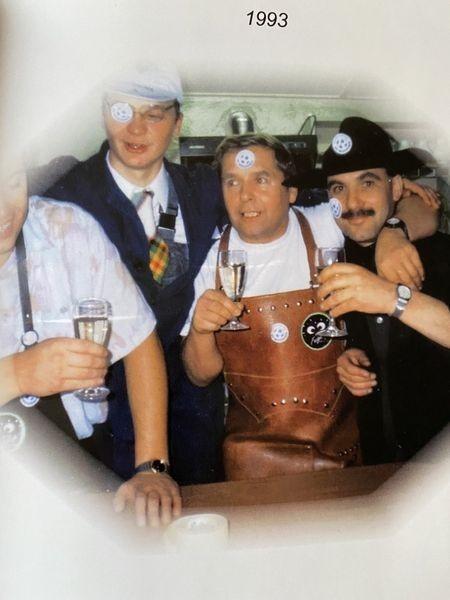 SVM-History: Mannschaftsbilder aus den 1990er Jahren