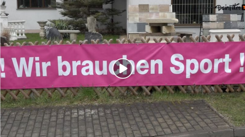 Zäune für Vereine - WIR brauchen Sport! (mit Video)