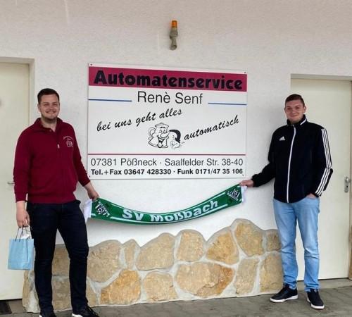 Die Automatenservice Senf GmbH ist ein neuer Werbepartner des SVM 🤝