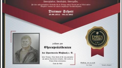 R.I.P. Dietmar Schott 🖤