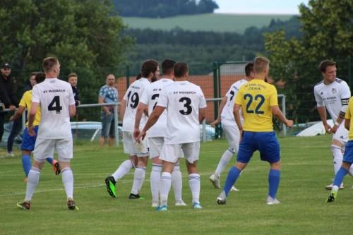 Fotos vom Testspiel gegen die U19 des FC Carl Zeiss Jena