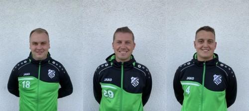 Wir begrüßen drei neue Spieler für unsere 2. Mannschaft