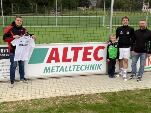 Partner des Moßbacher Sports: Die ALTEC Metalltechnik GmbH 🤝